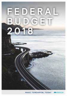 2018 Federal Budget Report