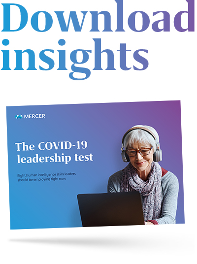 The COVID leadership test
