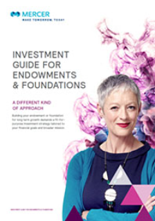 Mercer's Investment Guide for Endowment Funds