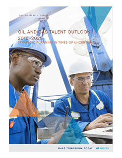 Oils and Gas Talent Outlook report