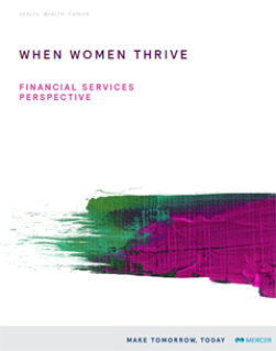 Gender Diversity in Financial Services