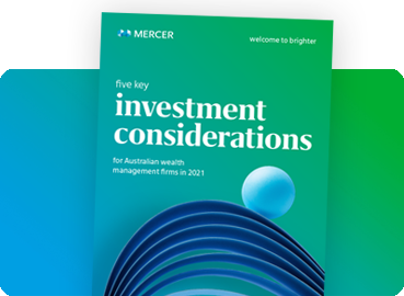 5 key investment considerations